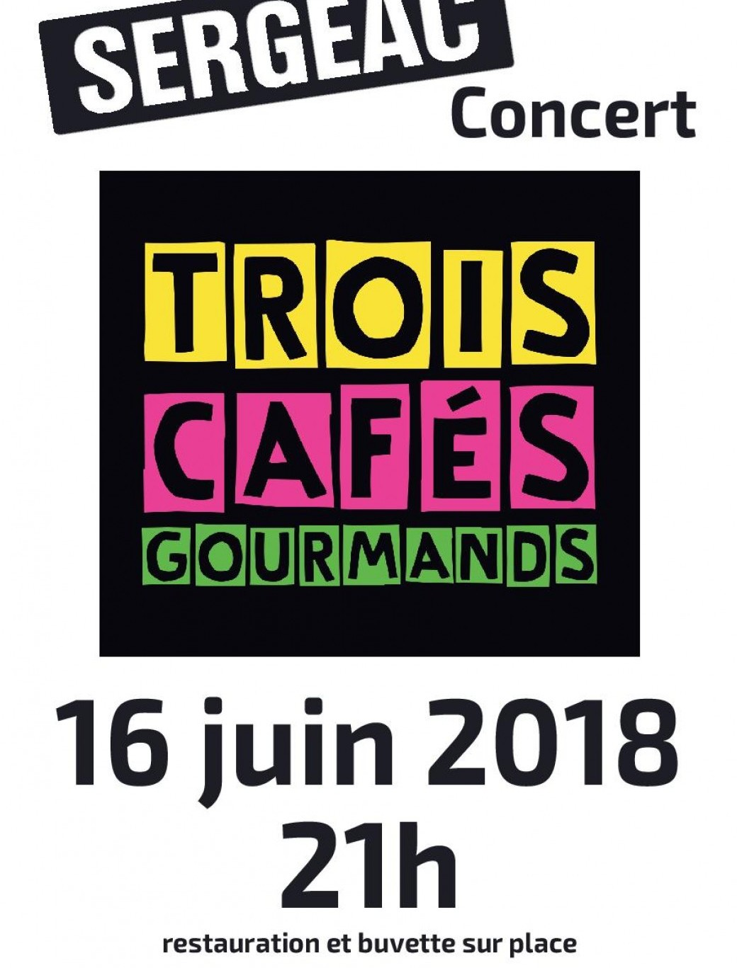 3 CAFÉS GOURMANDS