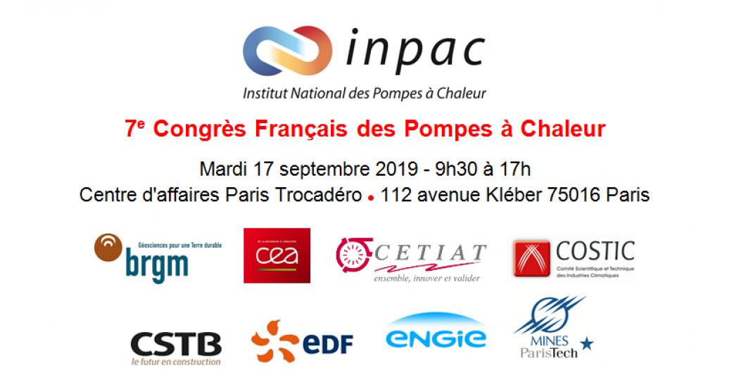 7e Congrès Français des Pompes à Chaleur