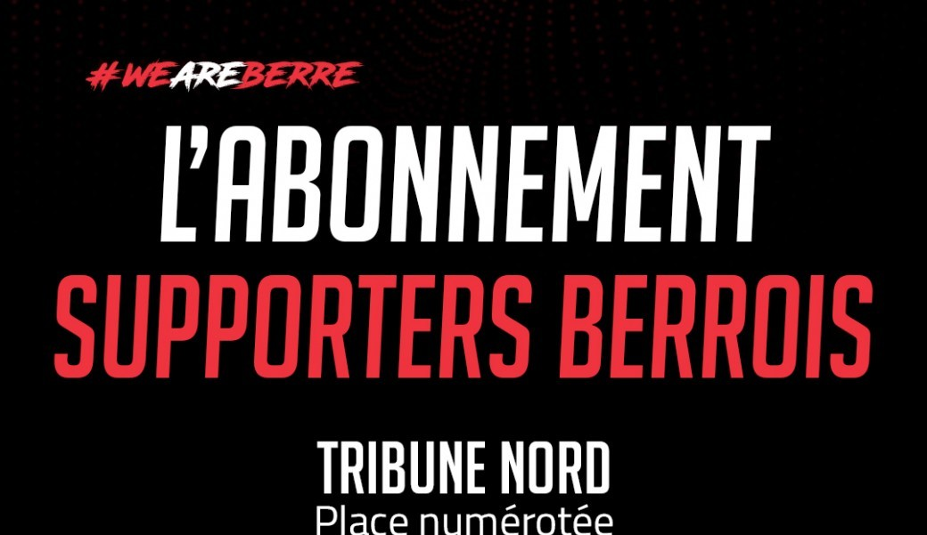 Abonnement Supporters Berrois