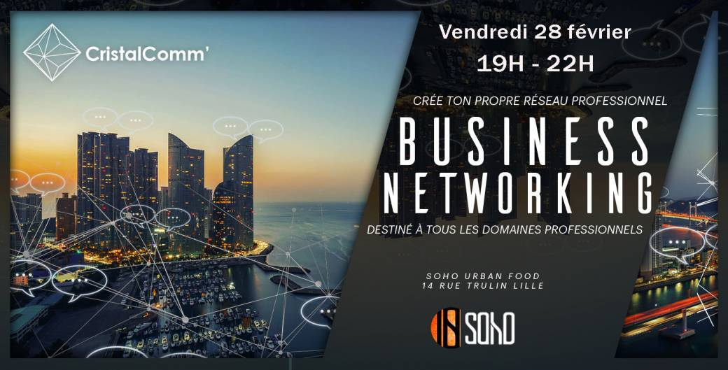 Afterwork ★ Business Networking ★ Soho Urban Food ★