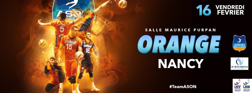 AS Orange Nassau - Grand Nancy VB