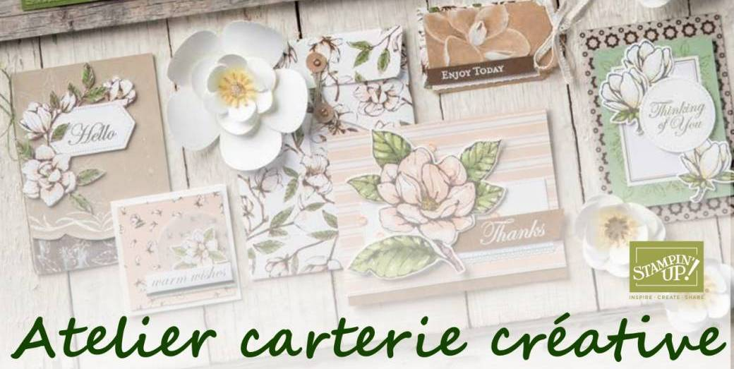 Atelier carterie créative Stampin'Up!