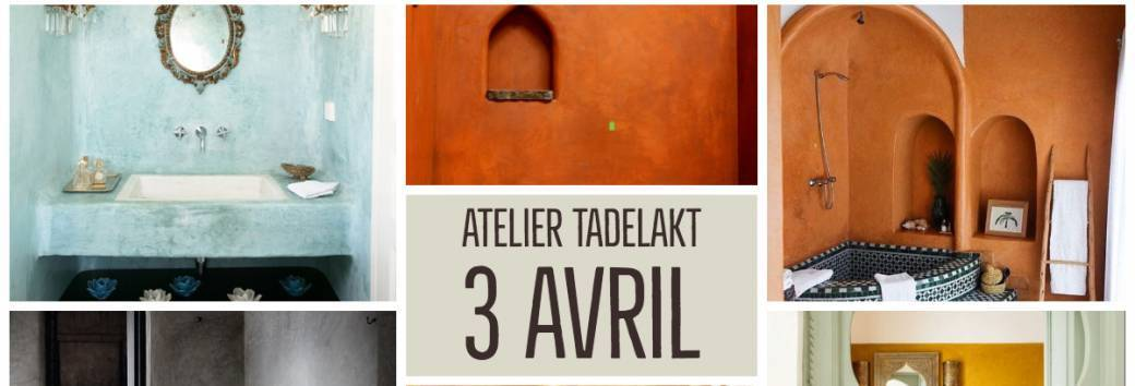 Tickets : Atelier Tadelakt (Chaux) - Billetweb