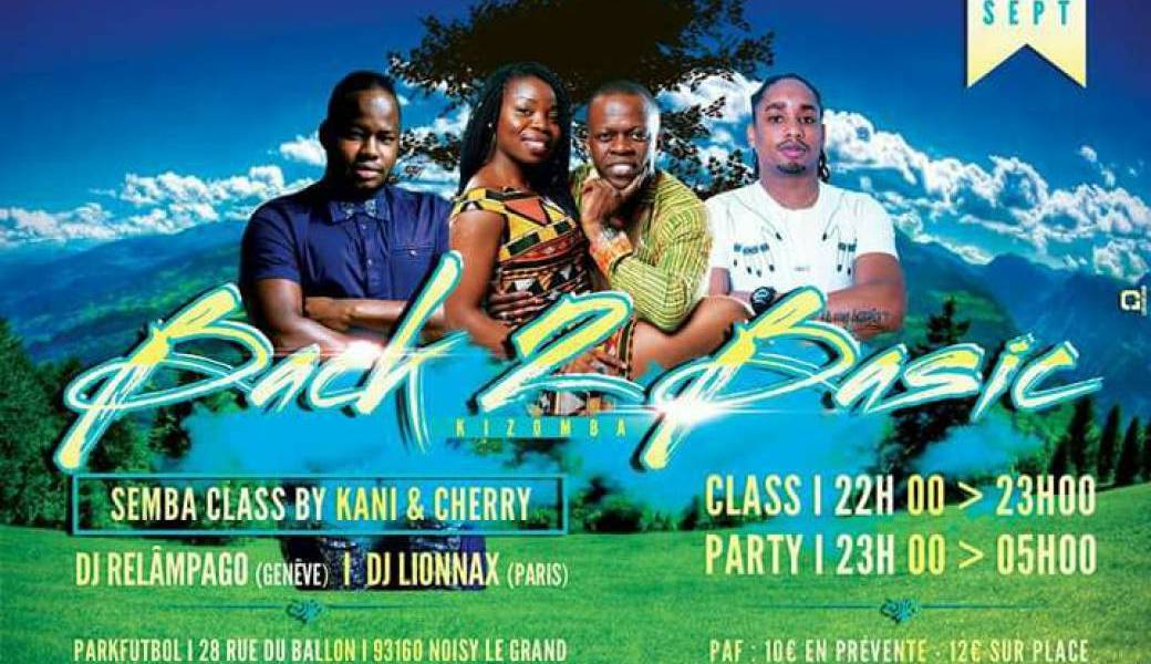 Back2Basic Kizomba 16 Sept. Special Festa Do Semba