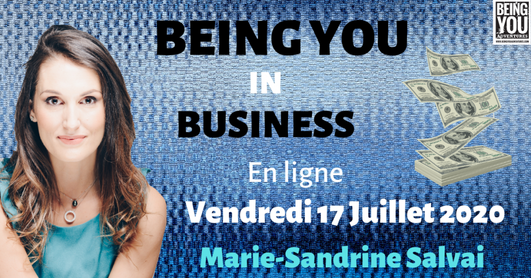 Being You in Business ONLINE