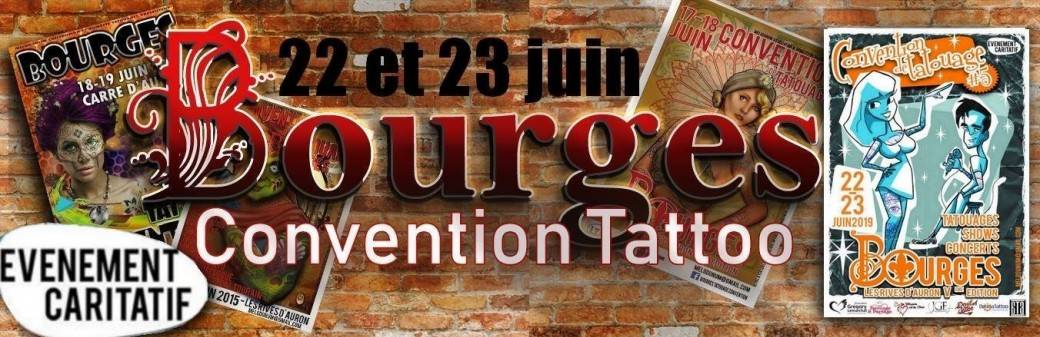 Bourges Tattoo Ink