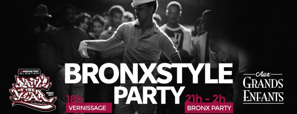 BRONX STYLE BLOCK PARTY