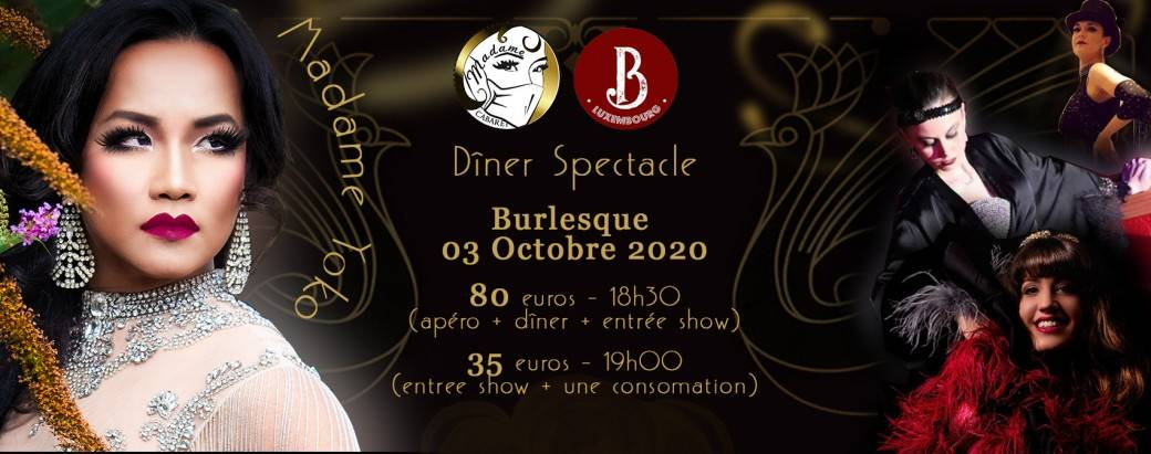 Burlesque Luxembourg Feat. Barnum 2.1 Edition