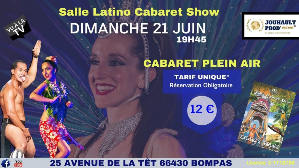 Cabaret Plein Air « Exotic's Tours »