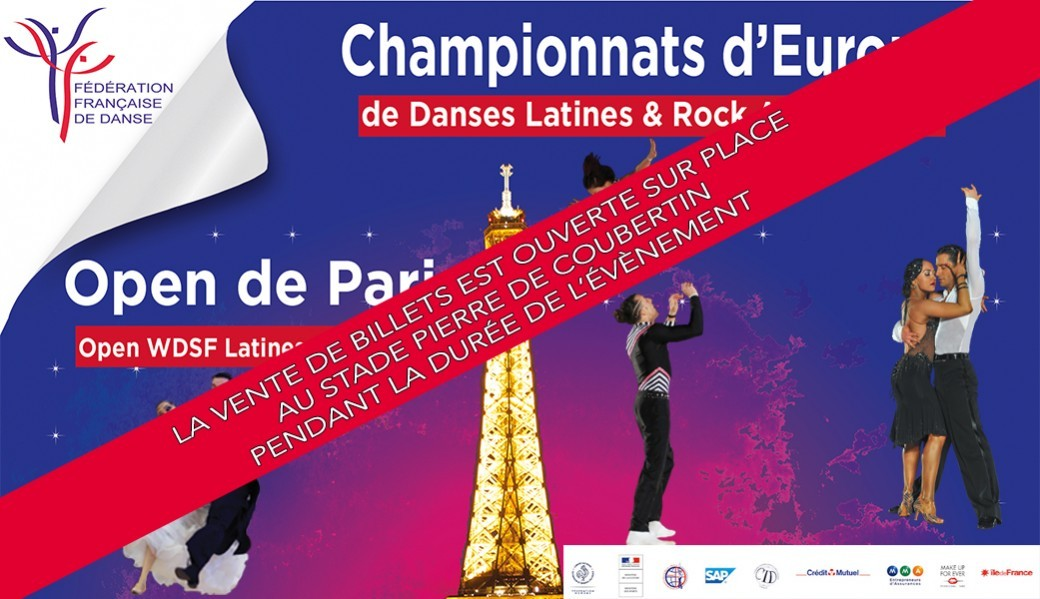 Championnats d'Europe de Danses Latines et Rock Acrobatique - Open de Paris