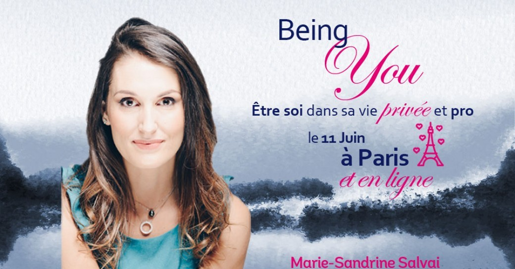 Classe Being You sur 1 journée à Paris + en Ligne simultanément!