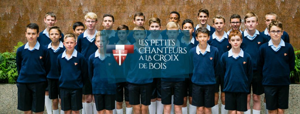Concert des Petits Chanteurs à la Croix de Bois à St Jean d'Angely