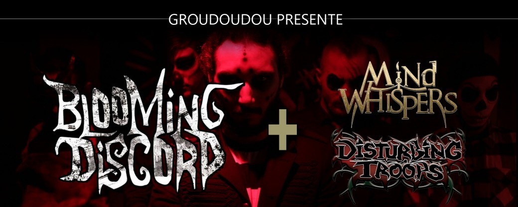 Tickets : Concert Metal BLOOMING DISCORD - MIND WHISPERS