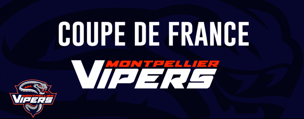COUPE DE FRANCE - Montpellier VS Anglet - Hockey sur glace