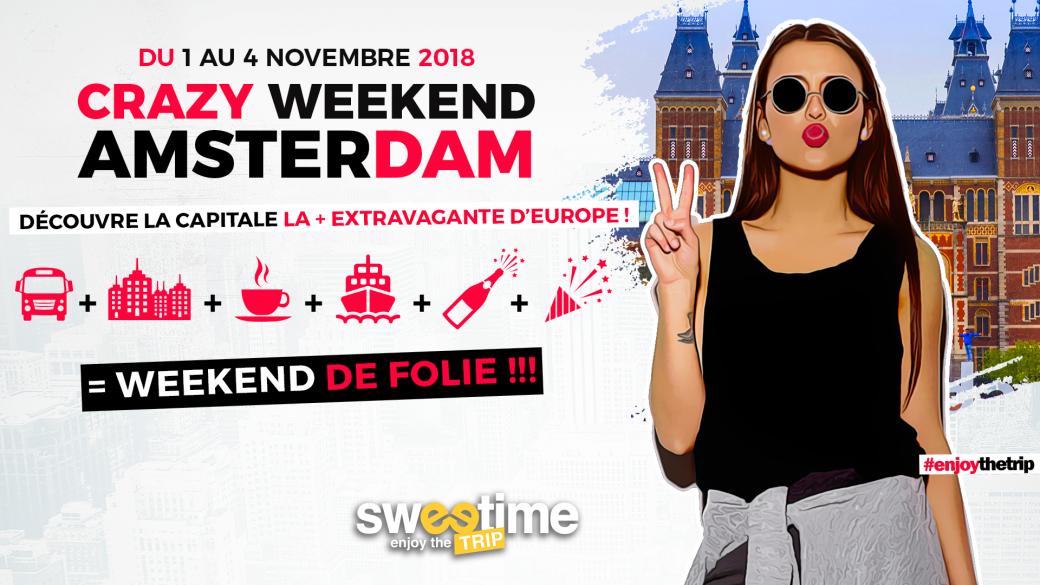 Billetterie Crazy Weekend Amsterdam 2018 Billetweb