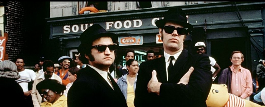 Drive In : Les Blues Brothers