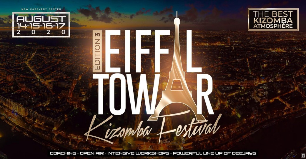 Eiffel tower kizomba festival Edition 3