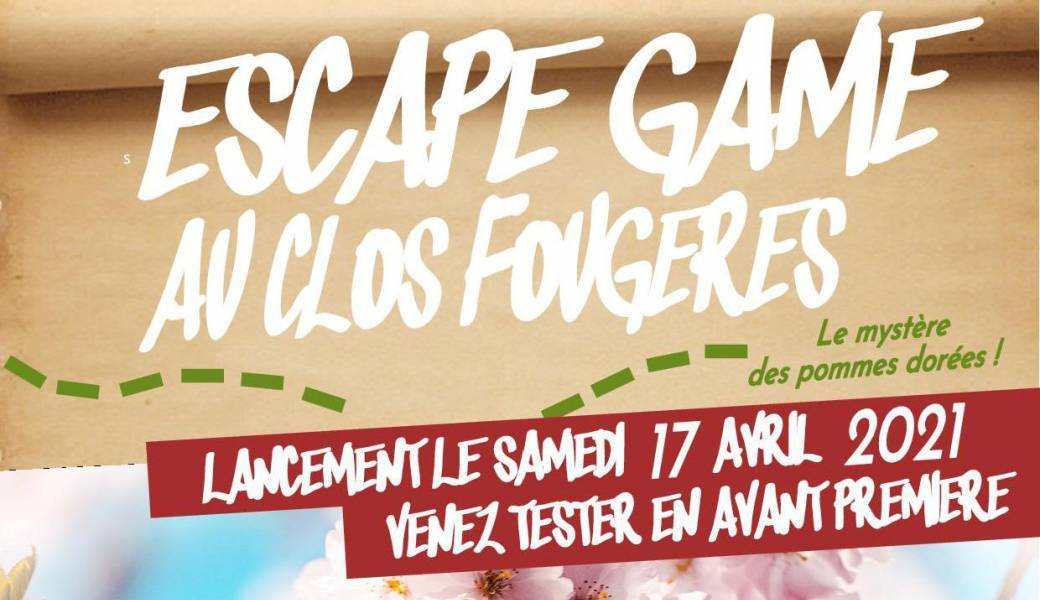 Escape game à travers champs
