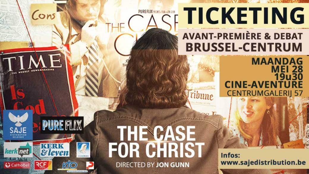 "Film ""The case for Christ"" VO OT NL -  Brussel"