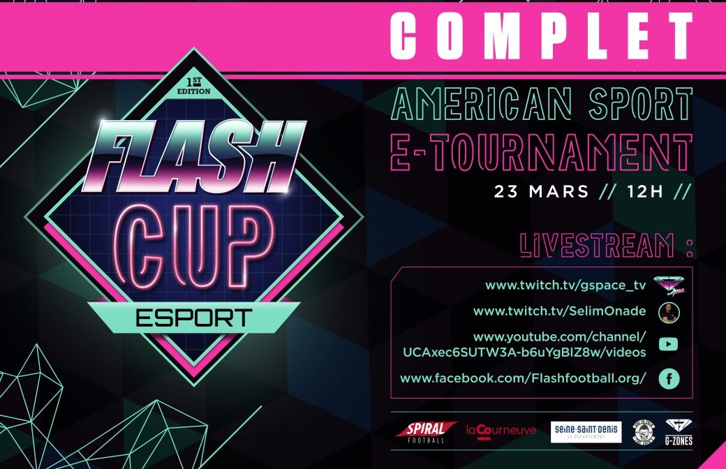 FLASH - CUP ESPORT - 1st Edition