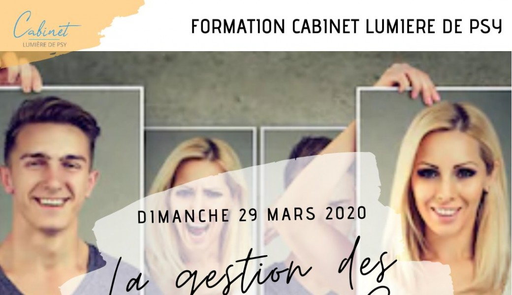 Formation : LA GESTION DES EMOTIONS