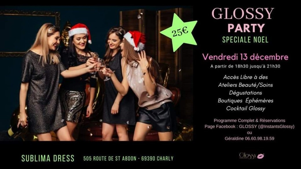 GLOSSY PARTY  du 13/12 à Charly