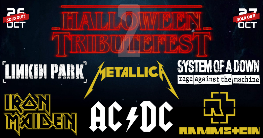 Halloween Tribute Fest 2018
