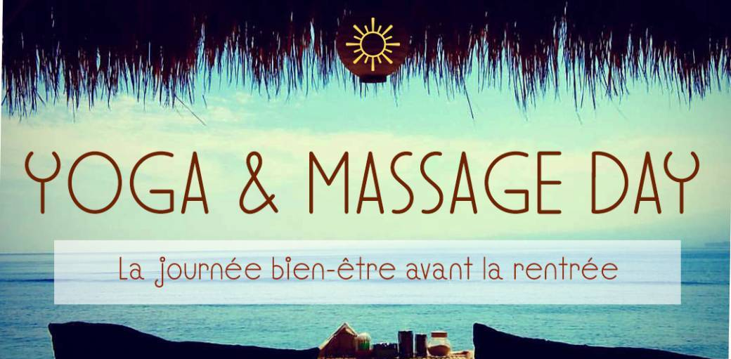Happy Before Rentrée: Yoga Massage Day