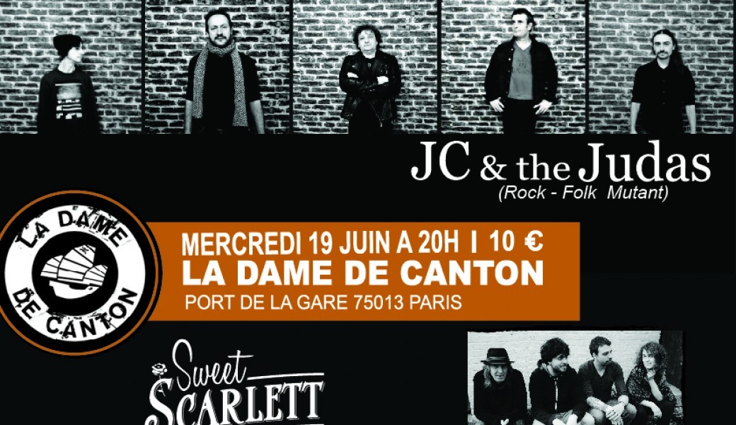 JC & the Judas + Sweet Scarlett