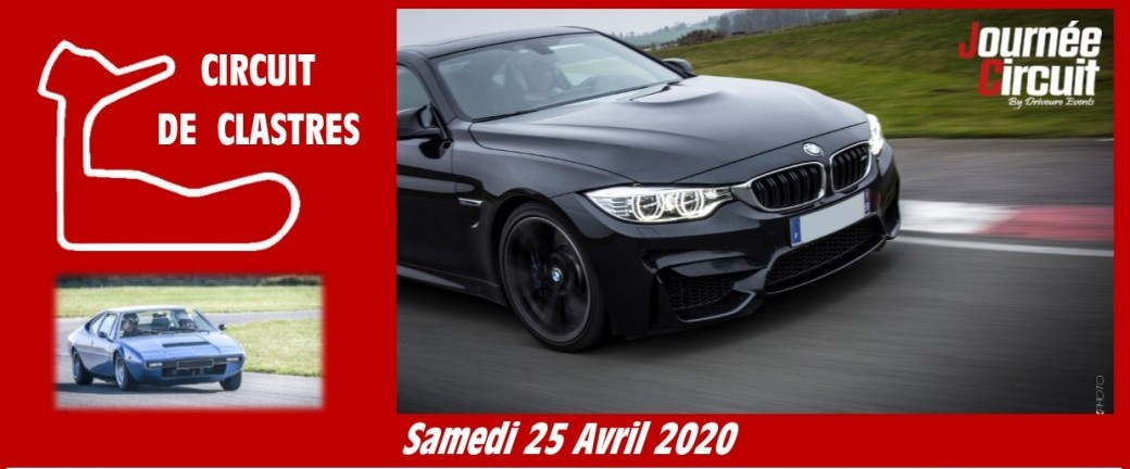 Journée circuit Clastres le 25 Avril 2020