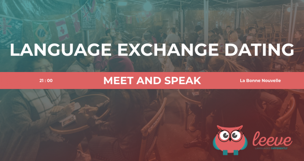 Language Exchange Dating Rennes Octobre 2019