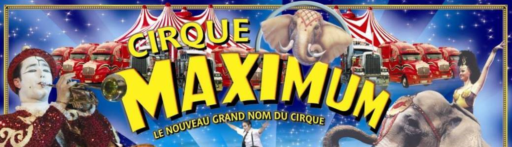 LE CIRQUE MAXIMUM A VILLEFRANCHE DE ROUERGUE