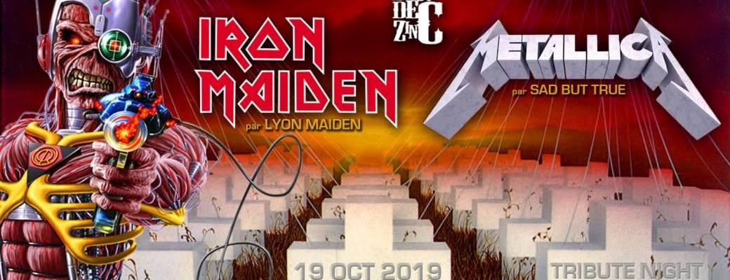Lyon Maiden + Sad But True // Tribute Night au Brin de Zinc
