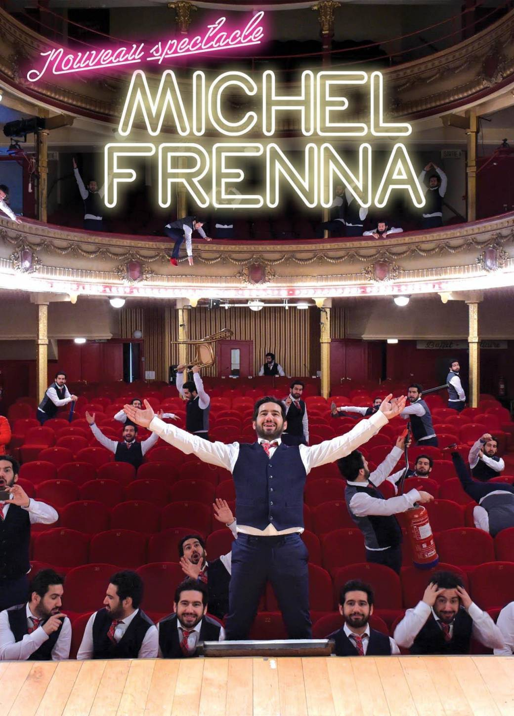 Nouveau Spectacle de Michel Frenna