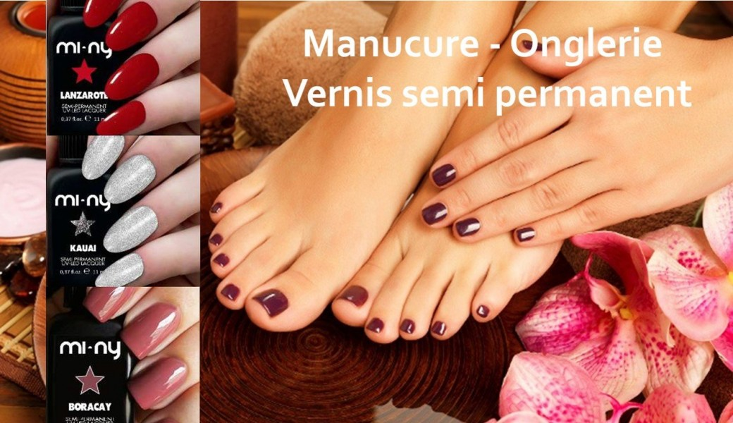 Onglerie - manucure - vernis