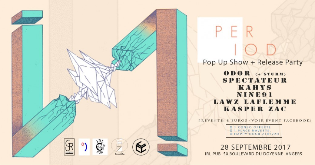 Period | Pop Up Show + Release Party w/ Guests
