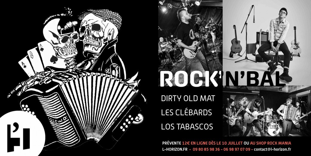 Rock'n'Bal | Les Clebards / Dirty Old Mat / Los Tabascos