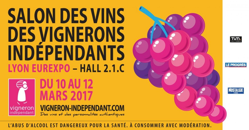 Billetterie salon des vins des vignerons ind pendants for Calendrier salon des vins