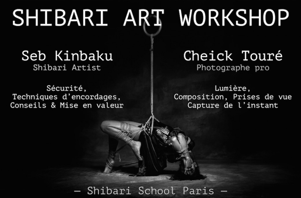 SHIBARI ART WORKSHOP 2019 - Shibari School Paris