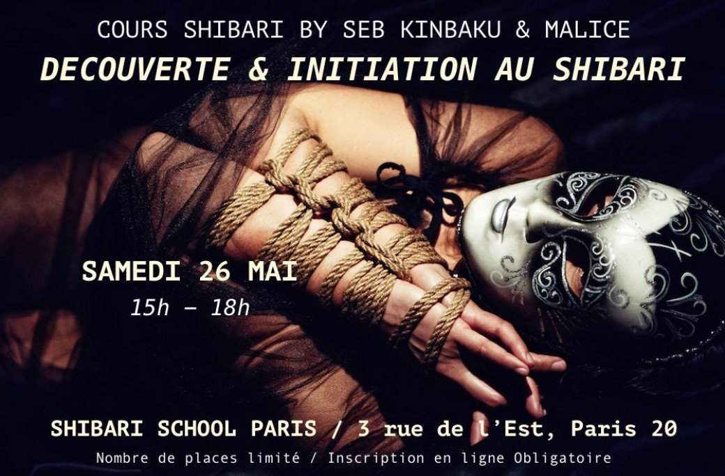 Shibari School Paris - Mai 2018