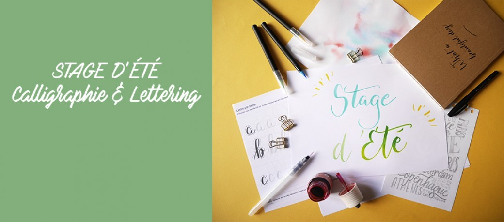 Stage Calligraphie et Lettering