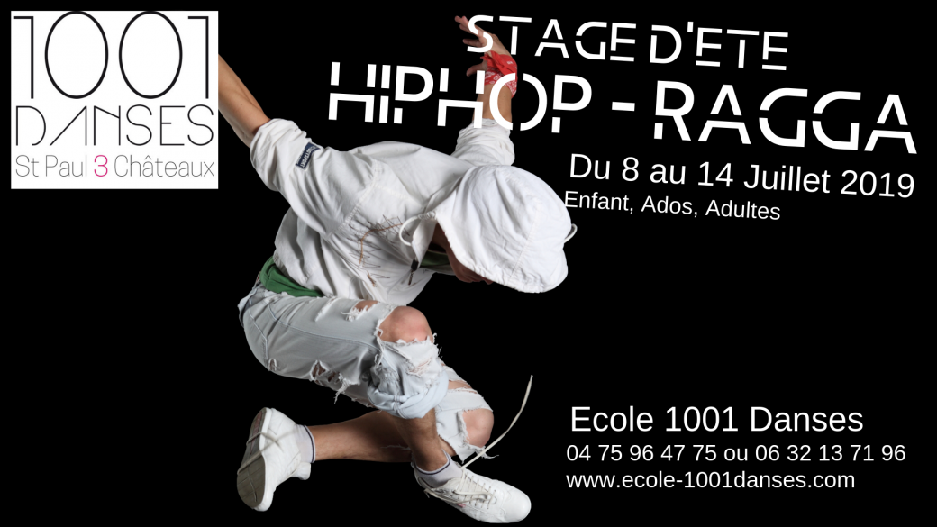 Stage d'été (hiphop, Ragga, Lady Style)
