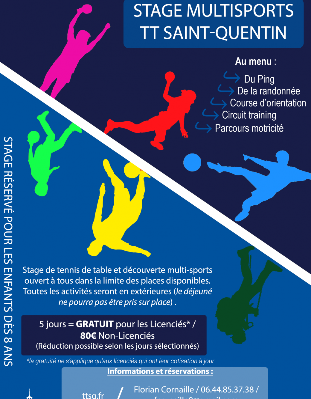 Stage Multisports vacances d'avril