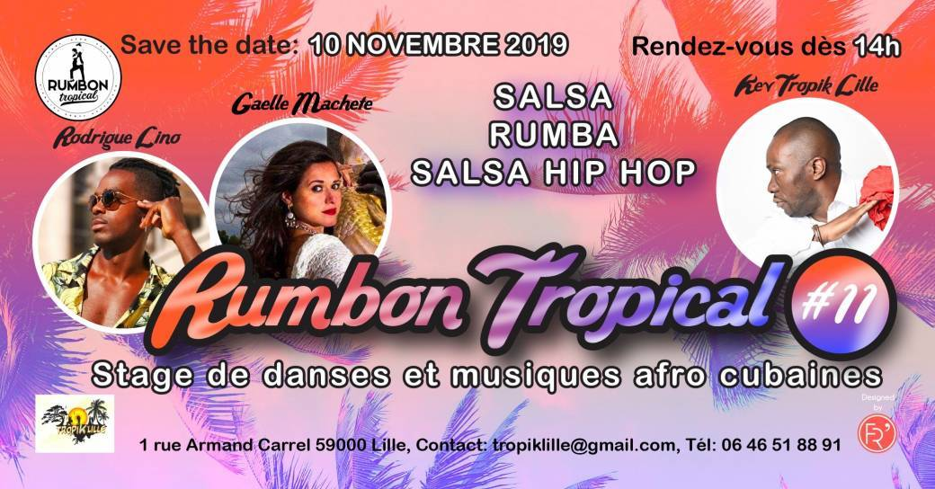 Stage RUMBON TROPICAL 11- Danses Afro Cubaines