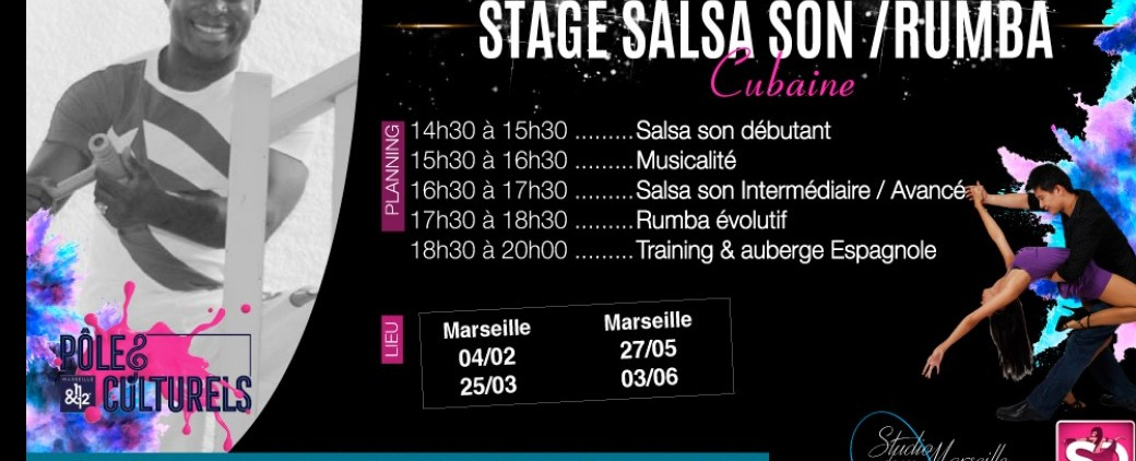 Stage Salsa Son /Rumba avec Victor Manuel Ges Zapata