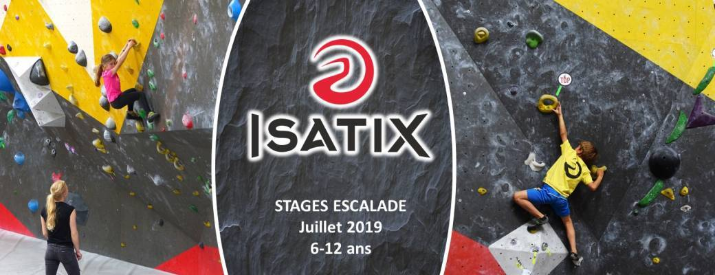 STAGES ESCALADE