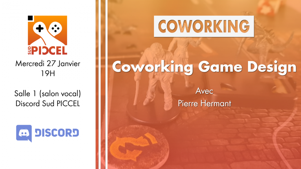 Sud PICCEL - Coworking Game Design avec Pierre Hermant