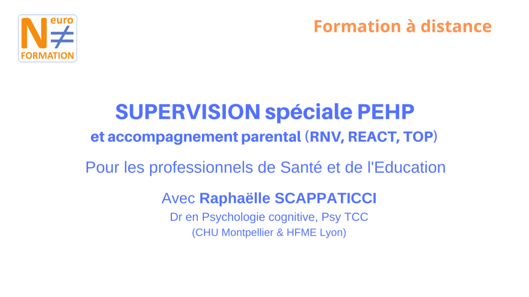 Session de supervision PEHP