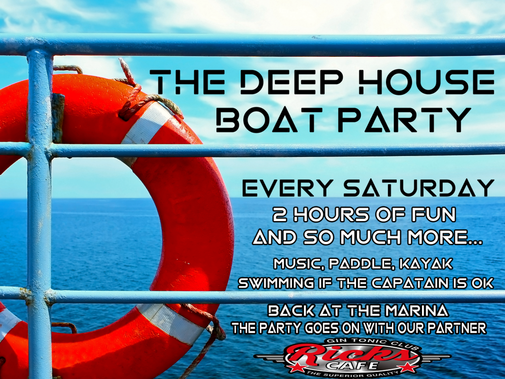 The Deep House Boat Party