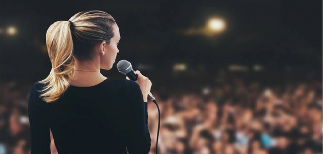 Train your public speaking skill